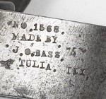 J.O. Bass Maker's Marks