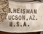 Bill Heisman Maker's Marks